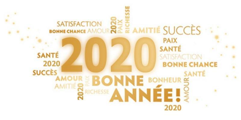 Bonne annee 2020 hd