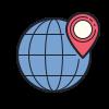 Icons8 lieu dans le monde entier 100