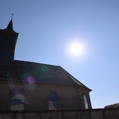 Soleil sur saint Sébastien