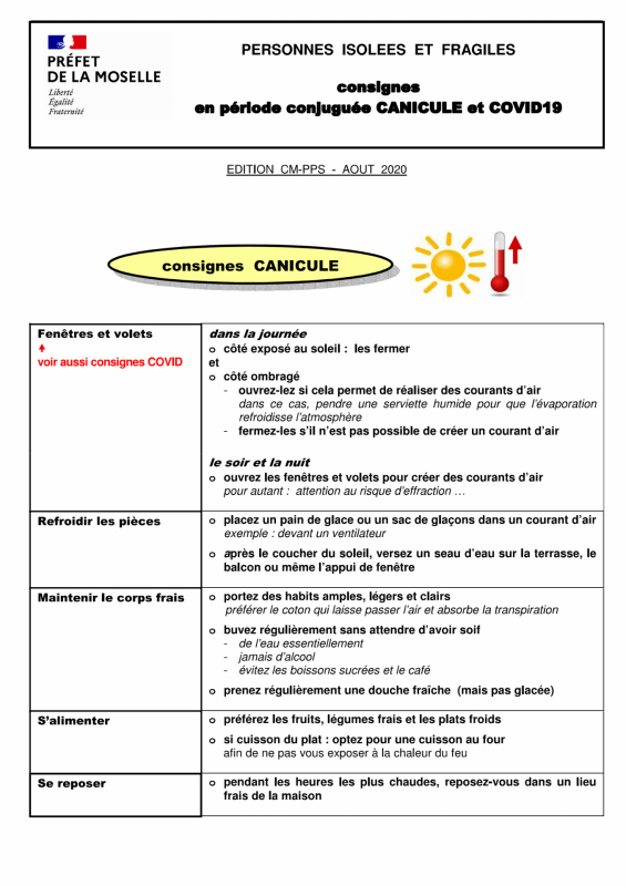 Canicule page 1